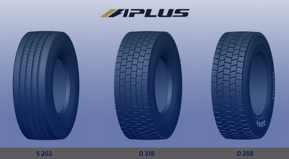 Aplus tires with wide tread